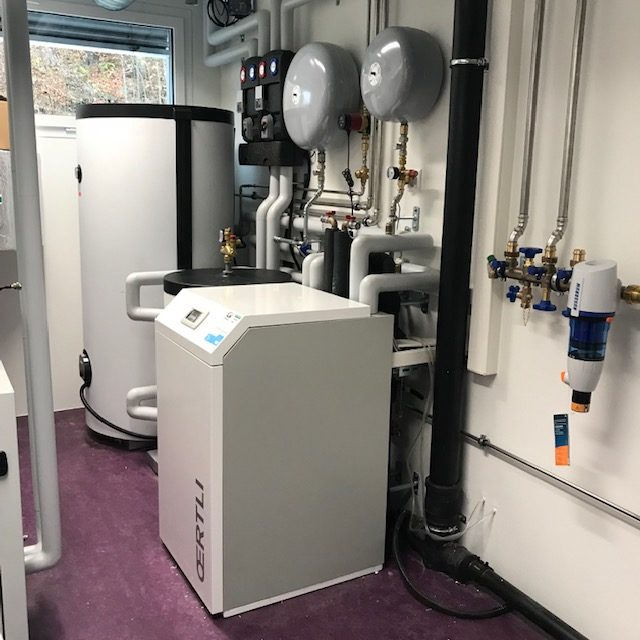 G2V : Installation de pompe à chaleur - Géothermie